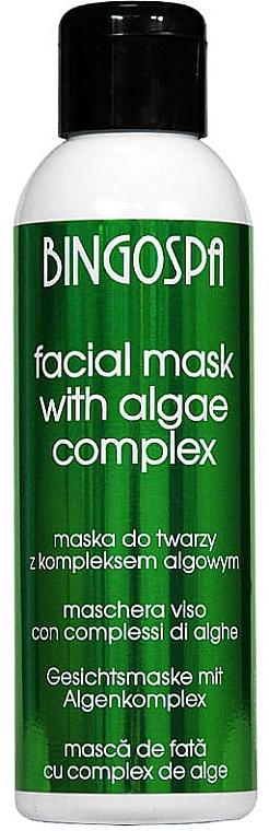 Mască de față, cu complex din alge - BingoSpa Cleansing Moisturizing Mask