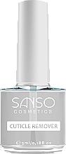 Parfumuri și produse cosmetice Soluție pentru înlăturarea cuticulei - Sanso Cosmetics Cuticle Remover
