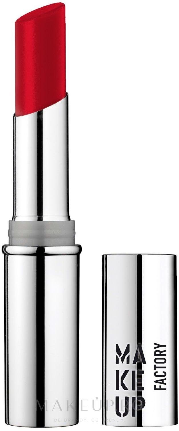 Ruj de buze - Make Up Factory Glossy Lip Stylo — Imagine 10 - Sicilian Red