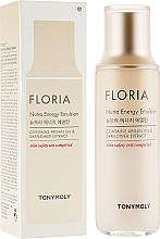 Parfumuri și produse cosmetice Emulsie pentru față - Tony Moly Floria Nutra-Energy Emulsion