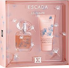 Parfumuri și produse cosmetice Escada Celebrate Life - Set (edp/30ml + b/lot/50ml)