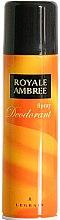 Parfumuri și produse cosmetice Legrain Royale Ambree - Deodorant-spray
