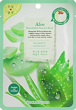 Parfumuri și produse cosmetice Mască-șervețel cu aloe pentru față - Beauugreen Contour 3d Aloe Essence Mask