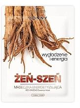 Parfumuri și produse cosmetice Mască de țesut cu extract de ginseng - Conny Red Ginseng Essence Mask