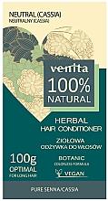 Parfumuri și produse cosmetice Balsam tonifiant pentru păr - Venita Herbal Hair Conditioner