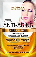 Parfumuri și produse cosmetice Mască de față - Floslek Anti-Aging Gold & Energy Mask