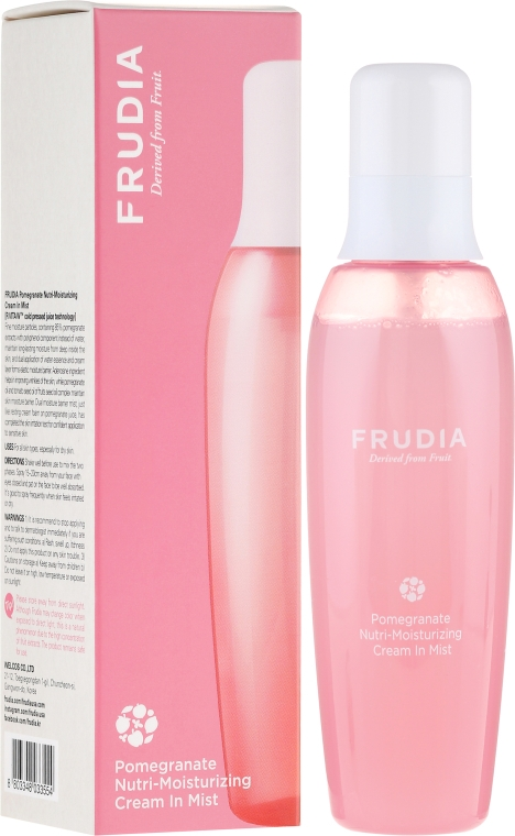 Cremă de față - Frudia Nutri-Moisturizing Pomegranate Cream In Mist — Imagine N1
