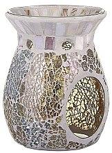 Parfumuri și produse cosmetice Lampă aromaterapie - Yankee Candle Wax Burner Gold & Pearl