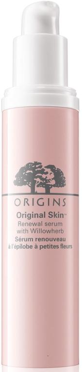Ser anti-stres pentru față - Origins Original Skin Renewal Serum With Willowherb — Imagine N1