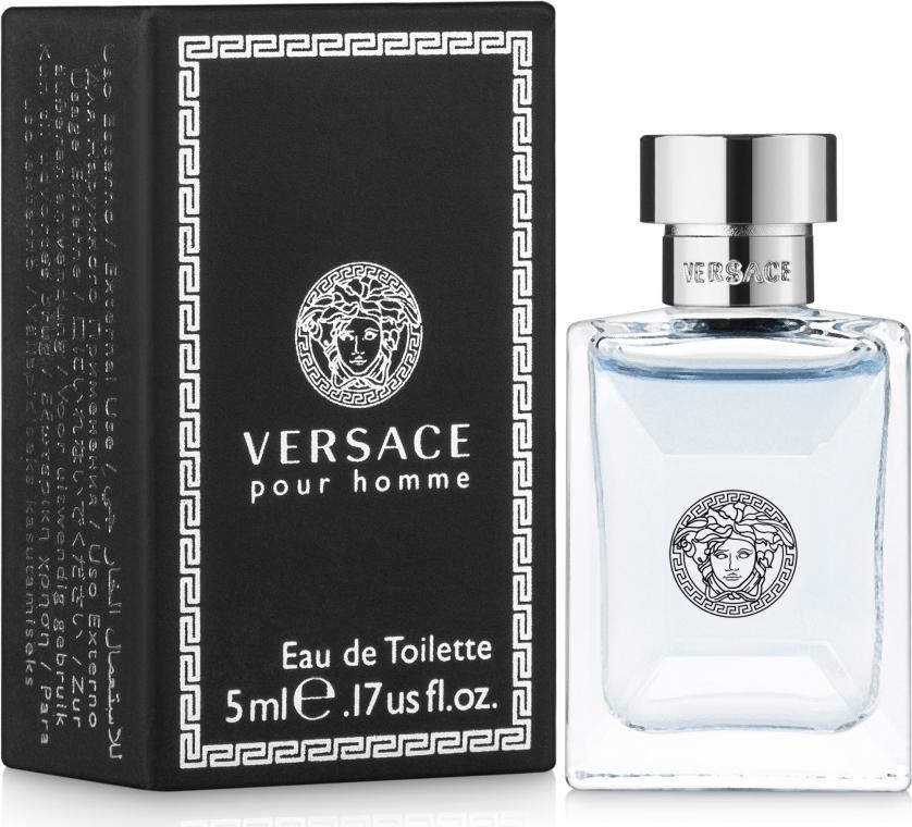 Versace Versace Pour Homme - Apă de toaletă (mini) — Imagine N1