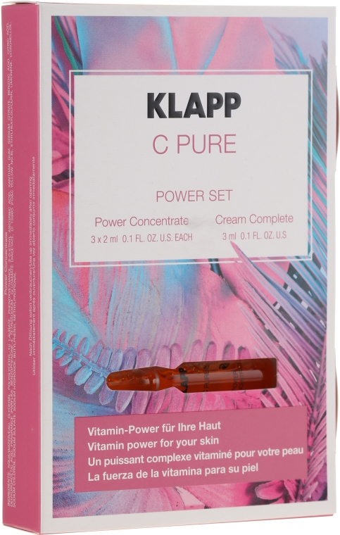 Set - Klapp C Pure Power Set (f/concentrate/3x2ml + f/cr/3ml) — Imagine N1