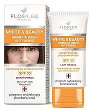 Parfumuri și produse cosmetice Cremă de zi pentru față - Floslek White & Beauty Anti-Aging Day Cream SPF 30