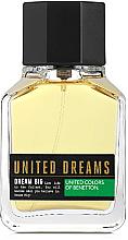 Parfumuri și produse cosmetice Benetton United Dreams Dream Big For Men - Apă de toaletă (tester cu capac)