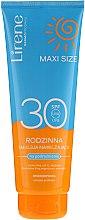 Parfumuri și produse cosmetice Emulsie pentru bronz - Lirene Sun Care Moisturizing Emulsion SPF30
