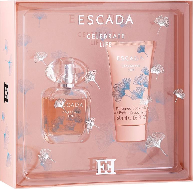 Escada Celebrate Life - Set (edp/30ml + b/lot/50ml)
