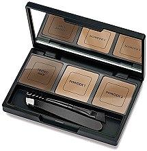 Parfumuri și produse cosmetice Set pentru corecția sprâncenelor - Golden Rose Eyebrow Styling Kit