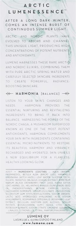 Ser regenerant pentru față - Lumene Harmonia Nutri-Recharging Revitalizing Serum — Imagine N3