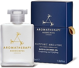 Parfumuri și produse cosmetice Ulei de duș - Aromatherapy Associates Support Breathe Bath & Shower Oil