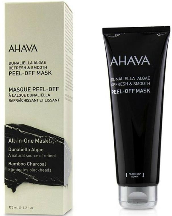 Mască pe bază de algă Dunaliella pentru față - Ahava Dunaliella Algae Peel-off Mask — Imagine N1