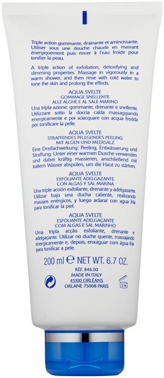 Scrub pentru corp - Orlane Aquasvelte Slimming Scrub with Algae and Salt — Imagine N2