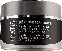 Parfumuri și produse cosmetice Cremă facială cu acid hialuronic - Matis Reponse Corrective Hyaluronic Performance Cream