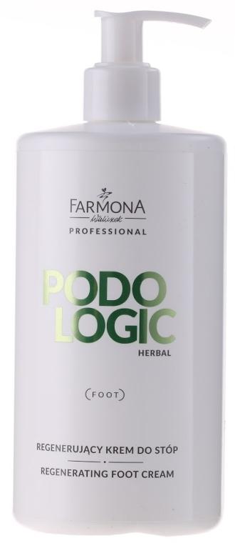 Cremă regenerantă pentru picioare pe bază de grapefruit - Farmona Podologic Herbal — Imagine N1