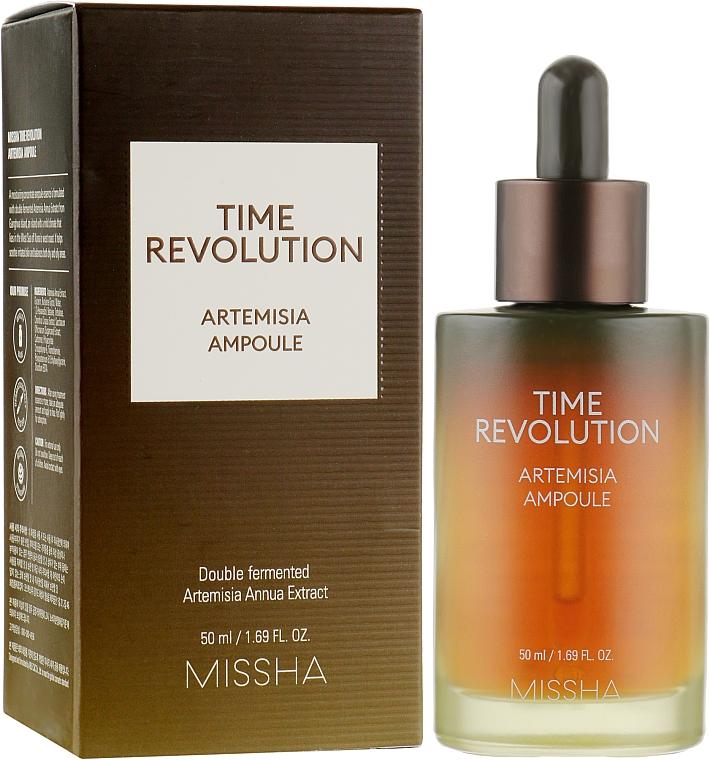 Ser cu extract de pelin pentru față - Missha Time Revolution Artemisia Ampoule
