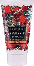 Parfumuri și produse cosmetice Cremă de protecție solară - Cosmepick Tattoo Skin Care Sun Protect SPF 50