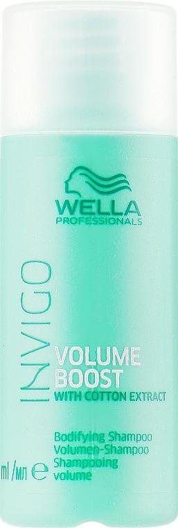 Șampon pentru volumul părului - Wella Professionals Invigo Volume Boost Bodifying Shampoo