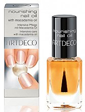 Parfumuri și produse cosmetice Ulei pentru cuticule și unghii - Artdeco Nourishing Nail Oil With Macadamia