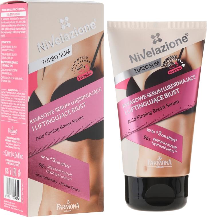 Ser pentru bust cu efect de fermitate - Farmona Nivelazione Turbo Slim