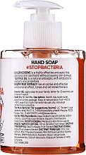"""Săpun antibacterian pentru mâini """"Grapefruit -arbore de ceai"""" - MonoLove Bio Hand Soap With Chlorhexidine — Imagine N2"""