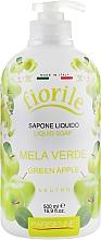 """Parfumuri și produse cosmetice Săpun lichid """"Măr verde"""" - Parisienne Italia Fiorile Green Apple Liquid Soap"""