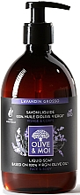 """Parfumuri și produse cosmetice Săpun lichid cu ulei de măsline """"Lavandă"""" - Saryane Olive & Moi Liquid Soap"""