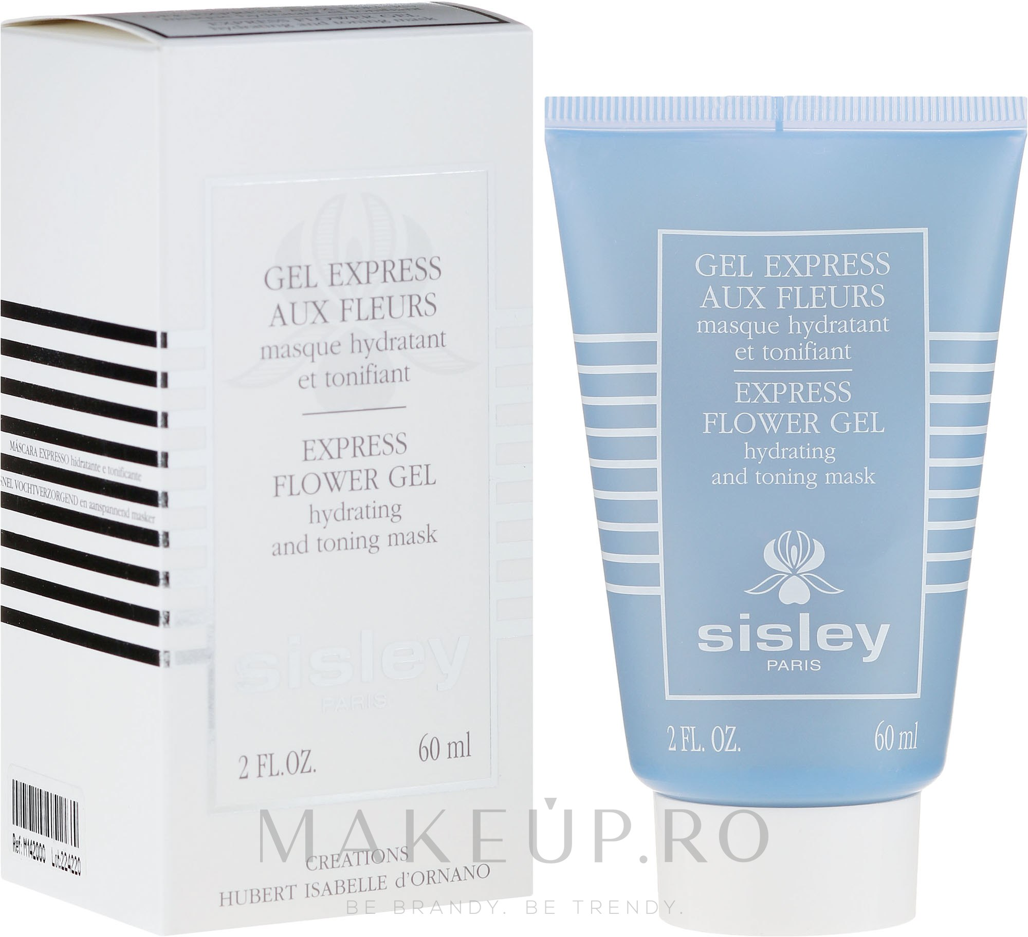 "Mască pentru față ""Gel din flori"" - Sisley Gel Express Aux Fleurs Express Flower Gel — Imagine 60 ml"