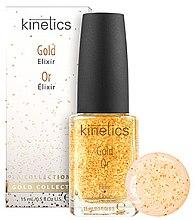 Parfumuri și produse cosmetice Întăritor pentru unghii - Kinetics Gold Elixir