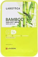 Parfumuri și produse cosmetice Mască cu efect de înmuiere a feței - Leaders Labotica Skin Soft Mask Bamboo