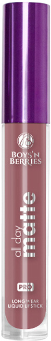 Ruj lichid de buze - Boys`n Berries All Day Matte Liquid Lipstick