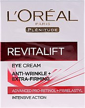 Parfumuri și produse cosmetice Cremă de ochi - L'Oreal Paris Revitalift