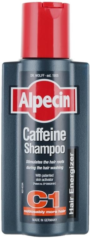 Șampon pe bază de cofeină împotriva căderii părului - Alpecin C1 Caffeine Shampoo — Imagine N1