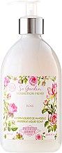 "Săpun lichid ""Trandafir"" - Institut Karite So Garden Collection Privee Rose Marseille Liquid Soap — Imagine N1"