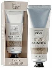 Parfumuri și produse cosmetice Cremă de mâini - Scottish Fine Soaps Oatmeal Hand & Nail Cream