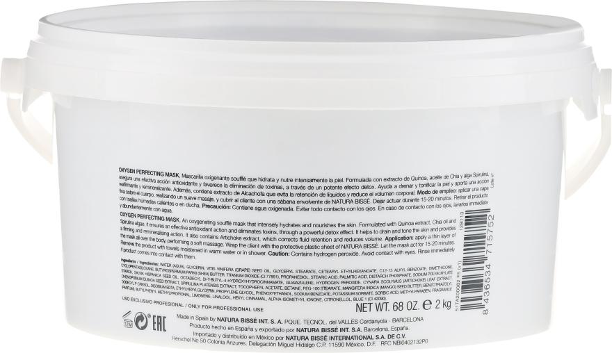 Mască detox nutritivă pentru corp - Natura Bisse Oxygen Perfecting Mask Soufle — Imagine N2