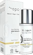 Parfumuri și produse cosmetice Cremă hidratantă anti-îmbătrânire de noapte pentru față - Yappco Age Defying Moisturizer Night Cream