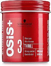 Parfumuri și produse cosmetice Gumă pentru aranjarea părului - Schwarzkopf Professional Osis+ Thrill Texture Fibre Gum