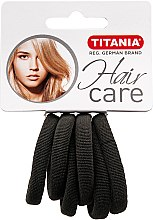 Parfumuri și produse cosmetice Elastic de păr, mic, gri - Titania