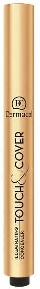 Corector-creion cu pensulă - Dermacol Highlighting Elick Concealer Touch & Cover