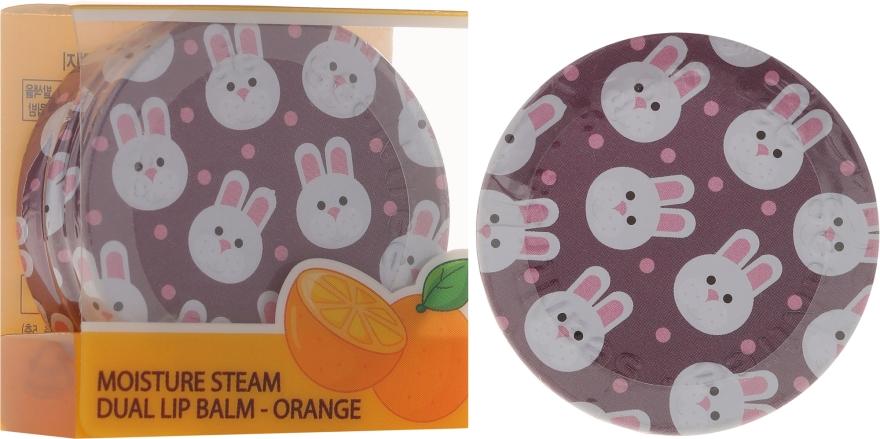 Balsam cu extract de portocale pentru buze - SeaNtree Moisture Steam Dual Lip Balm Orange 3