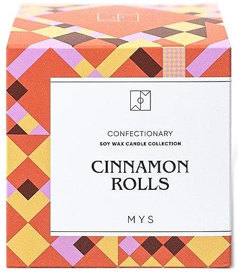 """Lumânare din soia """"Chiflă cu scorțișoară"""" - Mys Cinnamon Rolls Candle — Imagine N3"""