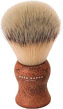 Parfumuri și produse cosmetice Pămătuf de ras - Acca Kappa Shaving Brush Natural Style Marrone